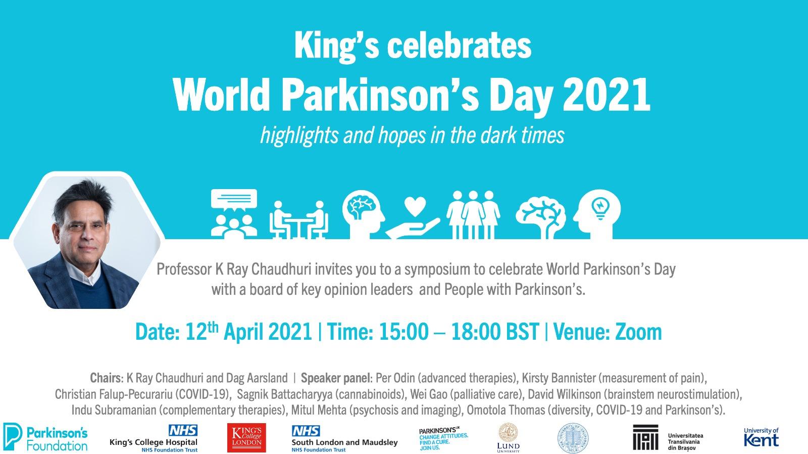 World Parkinson's Day 2021 Symposium